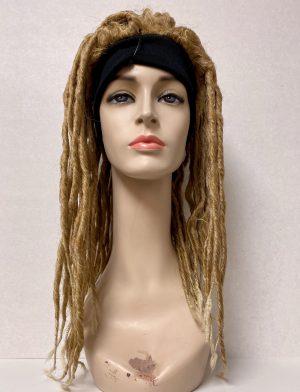Parrucca rasta con fascia